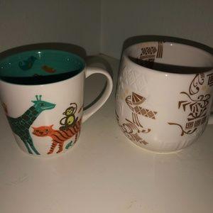 Starbucks Bone China cups